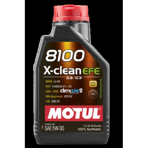 MOTUL 8100  X-CLEAN  EFE 5W-30 (1) LL-04/229,52