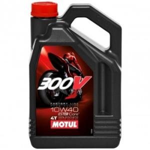 Моторное масло MOTUL 300V 4T FL 10W-40 road racing 10W-40 4л