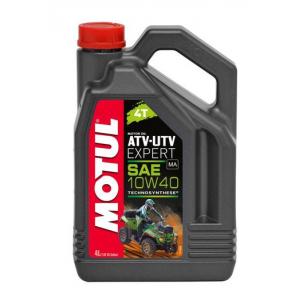Моторное масло MOTUL ATV UTV EXPERT 4T 10W40 MA, 4 литра
