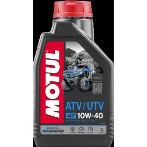 Моторное масло MOTUL ATV-UTV 4T 10W40 MA, 1 литр