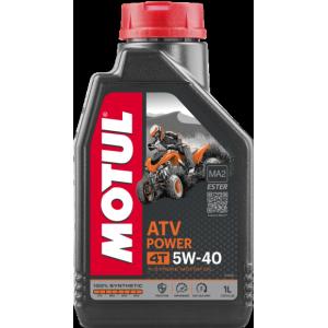 Моторное масло MOTUL ATV POWER 4T 5W40 MA, 1 литр