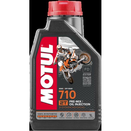 Моторное масло MOTUL 710 2T, 1 литр