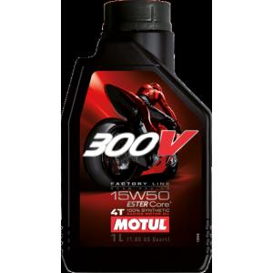 Моторное масло MOTUL 300V 4T FL 15W-50 road racing 15W-50 1л