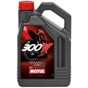 Моторное масло MOTUL 300V 4T FL 15W-50 road racing 15W-50 4л