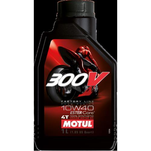 Моторное масло MOTUL 300V 4T FL 10W-40 road racing (1)