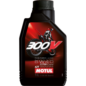 Моторное масло MOTUL 300V 4T FL ROAD RACING 5W-40, 1 литр