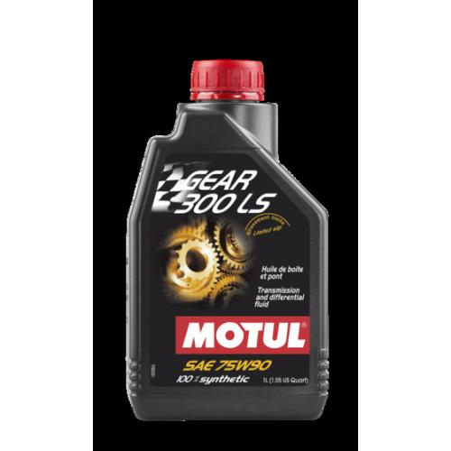 Трансмиссионное масло MOTUL Gear 300 LS 75W-90, 1 литр