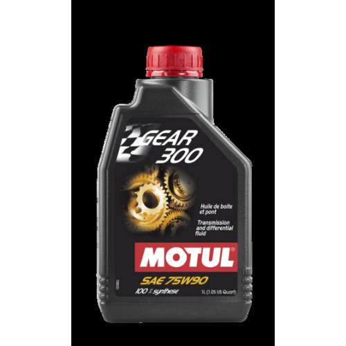 Трансмиссионное масло MOTUL GEAR 300 75W-90 1л
