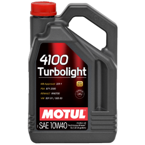 Моторное масло MOTUL 4100 Turbolight 10W-40 4л