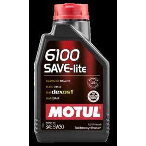 Моторное масло MOTUL 6100 SAVE-lite 5W-30, 1 литр