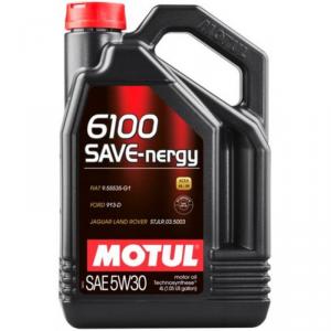 Моторное масло MOTUL  6100 SYN-nergy 5W-30  4 литра