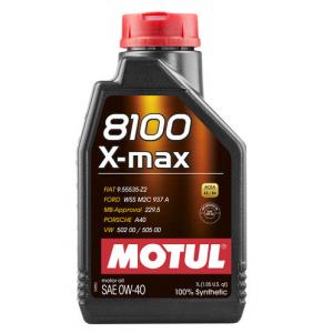 Моторное масло MOTUL 8100 X-max 0W-40, 1 литр