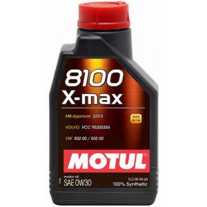 Моторное масло MOTUL 8100 X-max 0W-30, 1 литр