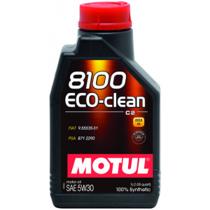 Моторное масло MOTUL 8100 Eco-clean 5W-30 1л
