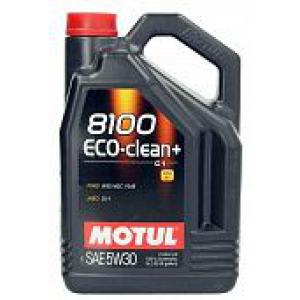 Моторное масло MOTUL 8100 Eco-clean Plus 5W-30 5л