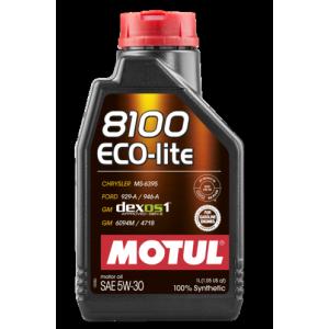 Моторное масло MOTUL 8100 Eco-lite 5W-30, 1 литр