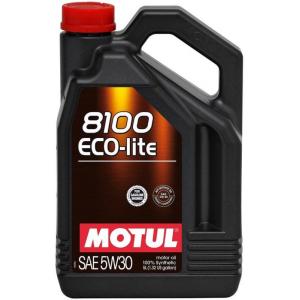 Моторное масло MOTUL 8100 Eco-lite 5W-30, 5 литров