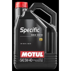 Моторное масло MOTUL Specific VW 505.01 5W-40 5л