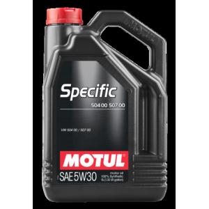 Моторное масло MOTUL Specific VW 504/00/507/00 5W-30 5л