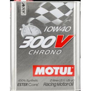 Моторное масло MOTUL 300V Chrono 10W-40 2л
