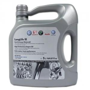 Моторное масло VAG LongLife III 5W-30 (5л.)