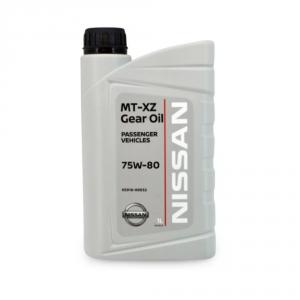 Масло трансмиссионное KE91699932R Nissan MT XZ Gear Oil 75W-80 (1л)
