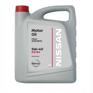 Масло моторное KE900-90042R Nissan A3/B4 5W-40 (5л.)