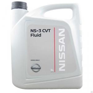 Масло трансмиссионное KE909-99943R Nissan CVT NS-3 (5л)