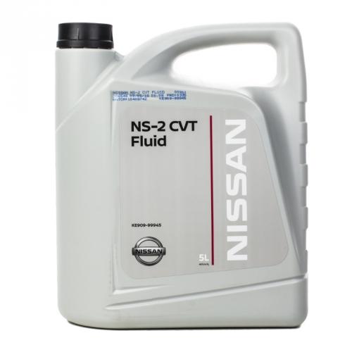 Масло трансмиссионное KE909-99945R Nissan CVT NS-2 (5л)