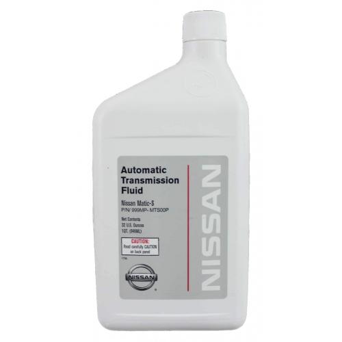 Масло трансмиссионное 999MP-MTS00P NISSAN Matic Fluid S (0,946л)