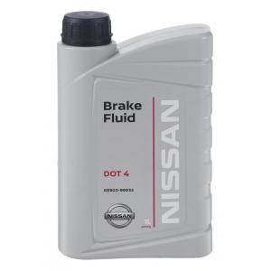 Жидкость тормозная KE90399932 Nissan BRAKE FLUID DOT 4 (1л.)