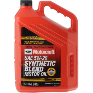 Масло моторное FORD Motorcraft Premium Synthetic Blend 5W-20 (4,73л.)