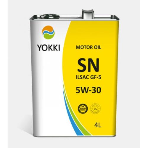 YOKKI 5W-30 SN ILSAC GF-5  4л