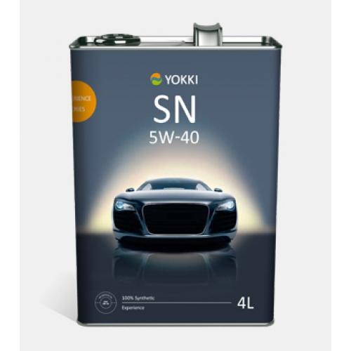 YOKKI SAE 5W-40 Experience API SN/CF  4л