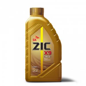 Масло для легковых автомобилей, полностью синтетическое ZIC X9  5W-40 (1л.)