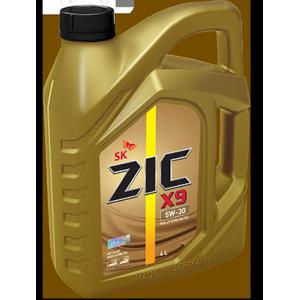 Масло для легковых автомобилей, синтетическое ZIC X9 5W-30 (4л.)