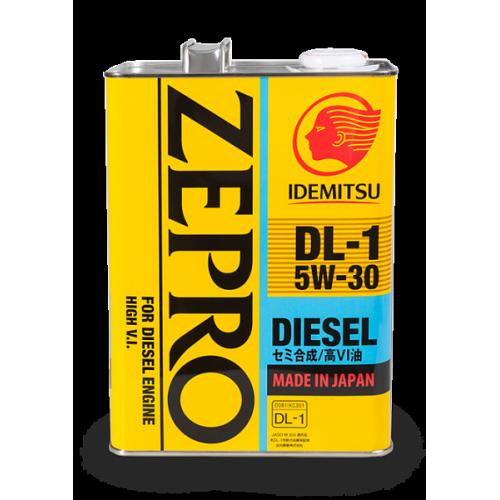 Масло моторное IDEMITSU Zepro Diesel DL-1 5W-30 (4 л)