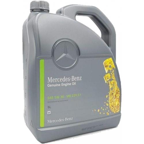 Масло Mercedes-Benz Genuine Engine Oil MB 229.51 5W-30