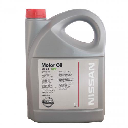 Масло NISSAN MOTOR OIL SAE 5W-30 DPF