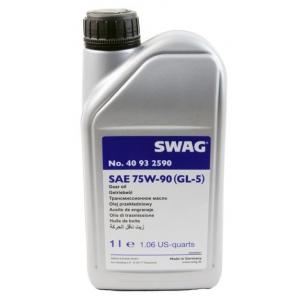 Масло SWAG трансмиссионное полусинтетика 75W-90 GL5 (1л.)