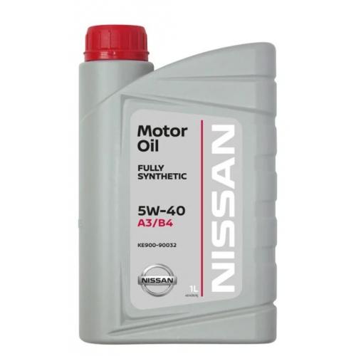 Масло моторное KE900-90032R Nissan A3/B4 5W-40 (1л.)