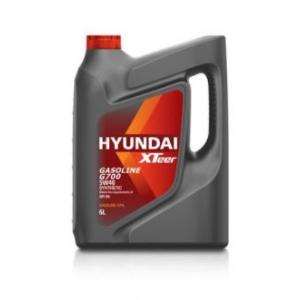 1061136  HYUNDAI  XTeer Gasoline G700 5w-40 SN (6л) масло моторное