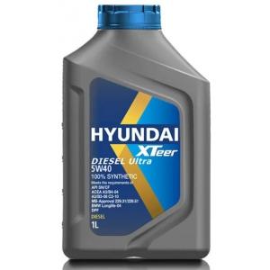 1011223  Масло моторное HYUNDAI  XTeer Diesel Ultra 5W-40   (1л)
