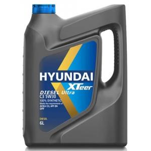 1061224 HYUNDAI  XTeer Diesel Ultra C3 5W30  3*6 lt  масло моторное