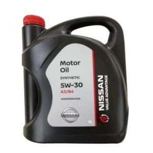 Масло моторное KE900-99933VA Nissan 5W-30 A3/B4 SL/CF (5л.)