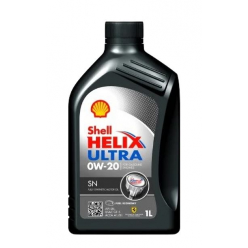 Моторное масло SHELL HELIX ULTRA SN 0W-20 1L