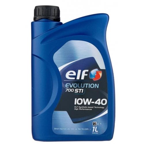 Полусинтетическое масло ELF COMPETITION STI 10W-40 (1)
