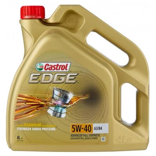 CASTROL EDGE 5W-40 A3/B4 СИНТЕТИЧЕСКОЕ, 4 Л