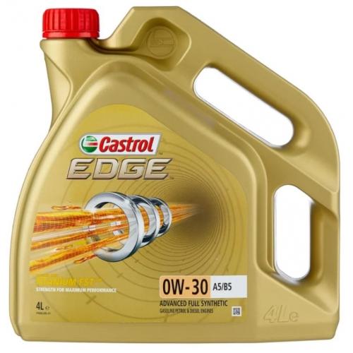CASTROL EDGE 0W-30 A5/B5 СИНТЕТИЧЕСКОЕ, 4 Л