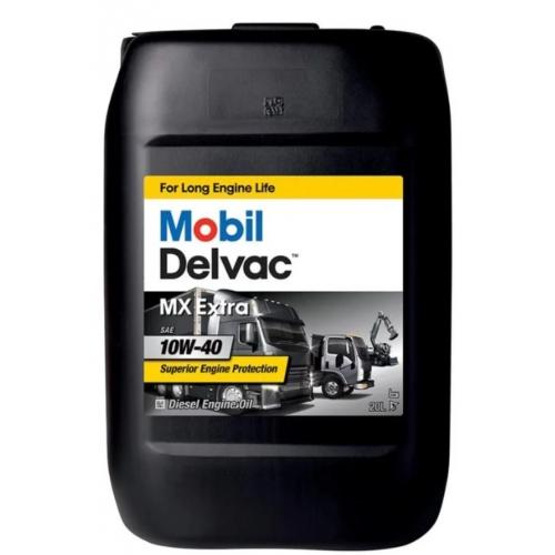 Полусинтетич. масло Mobil DELVAC MX EXTRA 10W-40 (20)